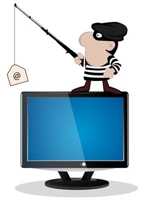 Dentro una mail Phishing